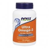 NOW Ultra Omega-3 / 90 Softgels