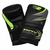 Уредни Ръкавици - RDX MMA Punching Boxing Gloves / Black-Green