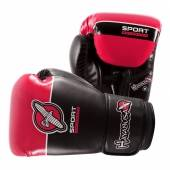 Боксови Ръкавици - Hayabusa Sport 8oz Gloves - Black / Coral