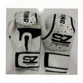 Боксови Ръкавици - SZ EVO LINE PREDATOR / Бели Изкуствена Кожа