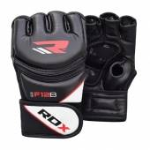 ММА РЪКАВИЦИ - RDX LEATHER-X TRAINING MMA GRAPPLING GLOVES