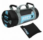 ФИТНЕС ТОРБА - RDX LEATHER-X EXERCISE GYM TRAINING FITNESS SAND