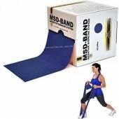 Ластик за упражнения широк на метър / син - MSD Band