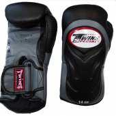 Боксови Ръкавици Естествена Кожа - TWINS / BGVL 6 BLACK-GRAY