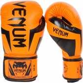 Боксови Ръкавици - VENUM ELITE BOXING GLOVES / NEO ORANGE