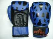 Боксови кожени ръкавици PETRA PANTHER( artificial leather) сини
