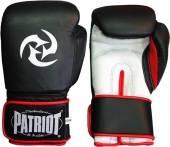 Боксови ръкавици Patriot BGL-703 - черно и бяло