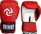 Боксови ръкавици Patriot BGL-703 - червено и бяло