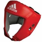 Протектор за глава Adidas AIBA - червен