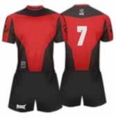 Футболен екип Patriot - PTLP006  червен