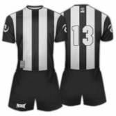 Футболен екип Patriot - PTLP011 черен