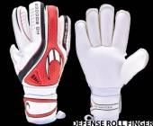 Вратарски ръкавици HoSoccer Defense Roll Finger
