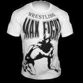 MAX FIGHT WRESTLING WHITE