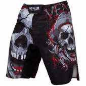 Шорти - VENUM PIRATE 3.0 FIGHTSHORTS BLACK/RED