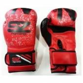 Боксови Ръкавици SZ EVO LINE BEST / Червени Изкуствена Кожа
