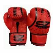 Боксови Ръкавици - SZ Line Predator / Червени Естествена Кожа