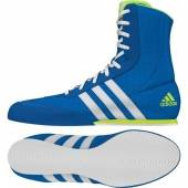 "Обувки за Бокс - Adidas boxing boots ""Box Hog 2"" - Blue / White"