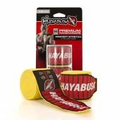 Бинтове за Бокс - HAYABUSA PERFECT STRETCH 3 HANDWRAPS / YELLOW