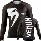 "РАШГАРД - VENUM ""GIANT"" RASHGUARD - BLACK - LONG SLEEVES"