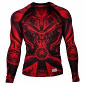 Рашгард - RASHGUARD VENUM GLADIATOR 3.0 LONG SLEEVES BLACK/RED