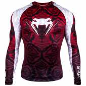 Рашгард - VENUM AMAZONIA 5 RASHGUARD LONG SLEEVES / RED