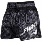 МУАЙ ТАЙ ШОРТИ VENUM TECMO MUAY THAI SHORTS DARK GREY