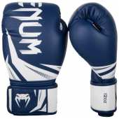 БОКСОВИ РЪКАВИЦИ  CHALLENGER 3 BOXING GLOVES NAVY BLUE WHITE
