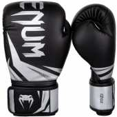 БОКСОВИ РЪКАВИЦИ  CHALLENGER 3 BOXING GLOVES BLACK SILVER