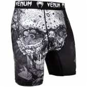 ТРЕНИРОВЪЧЕН КЛИН  SANTA MUERTE 3 COMPRESSION SHORTS BLACK WHITE