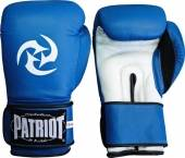 Боксови ръкавици Patriot BGL-703 - синьо и бяло