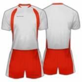 Футболен екип Patriot - PTKS001 бяло и червено