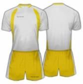 Футболен екип Patriot - PTKS001 бяло и жълто