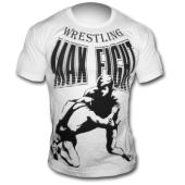 MAX FIGHT WRESTLING WHITE