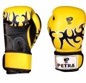 Боксови ръкавици Petra - жълти