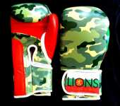 LIONS-Боксови ръкавици/Forest Camo limited edition