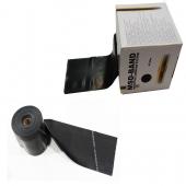 Ластик за упражнения широк на метър / черен - MSD Band