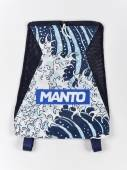 Спортен Сак - MANTO Gym Sack WAVES / Navy Blue