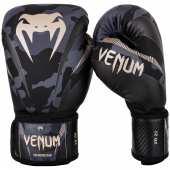 Боксови Ръкавици - VENUM IMPACT BOXING GLOVES Dark Camo/Sand
